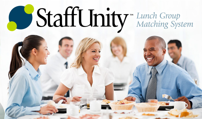 StaffUnity Employee Lunch Group Matching System